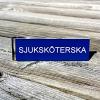 Namnskylt med militärklämma - SJUKSKÖTERSKA - 2