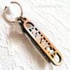 Nyckelring med utskuret namn - ANNICA